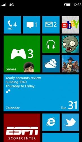 Windows Phone 8 Home