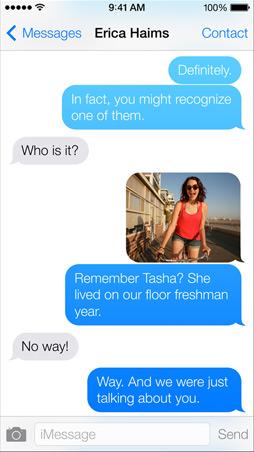 iOS 7 SMS